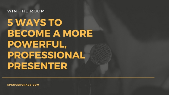 5 things you can do to win the room with your next presentation