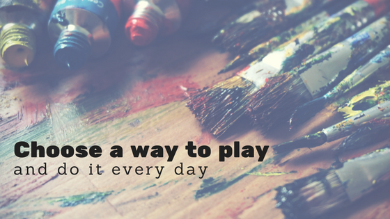 It's just play. Life-changing play.