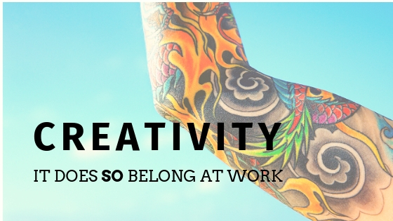 Want to be a more creative communicator? Contain yourself!
